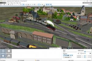 Enlarge 3D Train Studio Screenshot