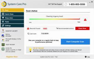 Enlarge SystemCarePro Screenshot