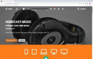 Enlarge HomeCast Media Center Screenshot