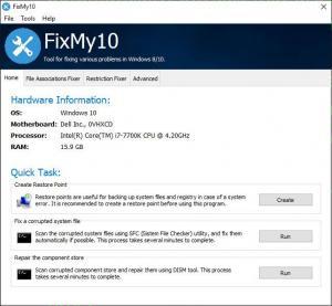 Enlarge FixMy10 Screenshot