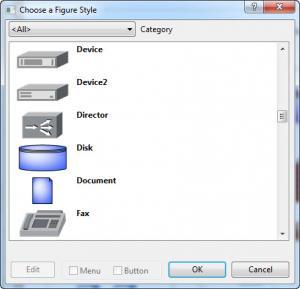 Enlarge LanFlow Net Diagrammer Screenshot