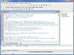 Enlarge HTML Kit Screenshot