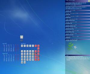 Enlarge Active Desktop Calendar Screenshot