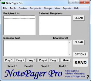 Enlarge NotePager Pro Screenshot