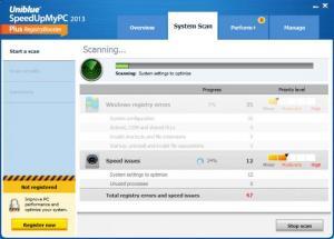 Enlarge SpeedUpMyPC Screenshot