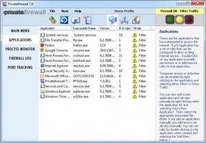Enlarge Privatefirewall Screenshot