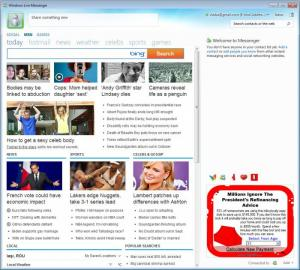 Enlarge MSN Messenger (Windows Live Messenger) Screenshot
