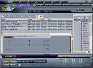 Enlarge AV Music Morpher Screenshot