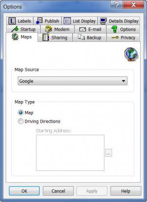 Enlarge Handy Address Book Screenshot