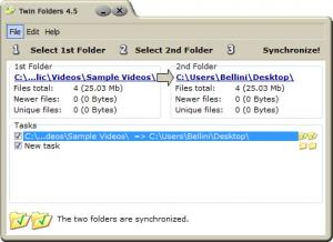 Enlarge Twin Folders Screenshot