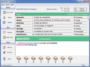 Enlarge Vocaboly Screenshot