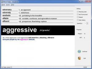 Enlarge Vocaboly Screenshot