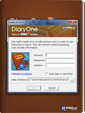 Enlarge DiaryOne Screenshot