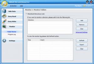 Enlarge GiliSoft File Lock Screenshot