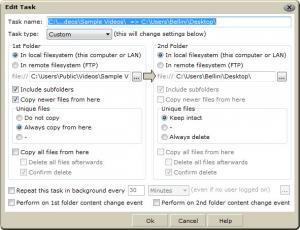 Enlarge Twin Folders Screenshot