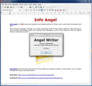 Enlarge Angel Writer Screenshot