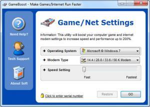 Enlarge GameBoost Screenshot