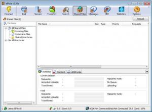 Enlarge eMule Screenshot