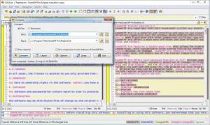 Enlarge ExamDiff Screenshot