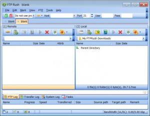 Enlarge FTP Rush Screenshot