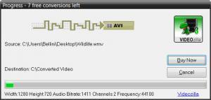 Enlarge VIDEOzilla Screenshot
