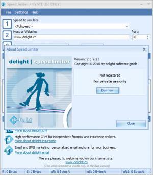 Enlarge Speed Limiter Screenshot