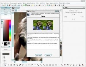 Enlarge Focus Photoeditor Screenshot