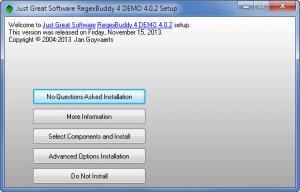 Enlarge RegexBuddy Screenshot