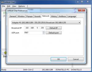 Enlarge LANcet Chat Screenshot