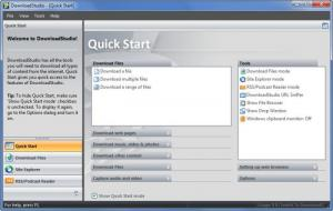 Enlarge DownloadStudio Screenshot