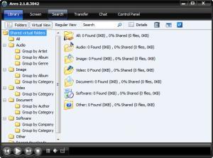 Enlarge Ares Galaxy Screenshot