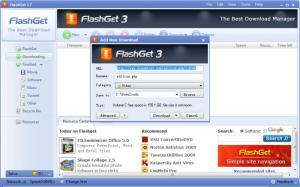 Enlarge FlashGet Screenshot