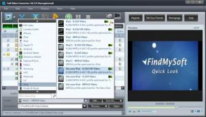 Enlarge Full Video Converter Screenshot