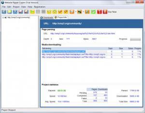 Enlarge Website Ripper Copier Screenshot