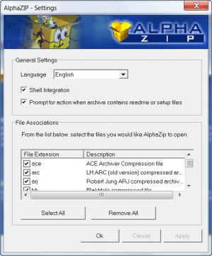 Enlarge Alpha ZIP Screenshot