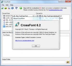 Enlarge CrossFont Screenshot