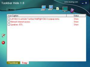 Enlarge Taskbar Hide Screenshot