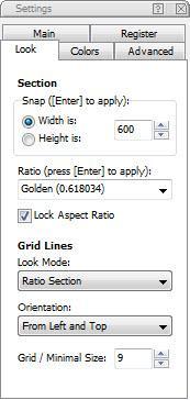 Enlarge Atrise Golden Section Screenshot