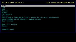 Enlarge Ultimate Boot CD Screenshot