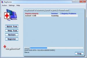Enlarge RegDoctor Screenshot