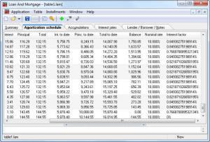 Enlarge Loan And Mortgage Screenshot
