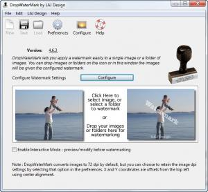 Enlarge DropWaterMark Screenshot