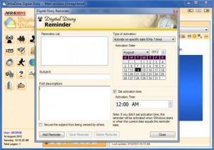 Enlarge Digital Diary Screenshot