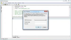 Enlarge SQL Developer Screenshot