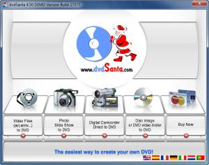 Enlarge dvdSanta Screenshot