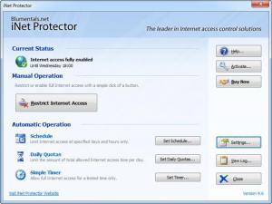 Enlarge iNet Protector Screenshot
