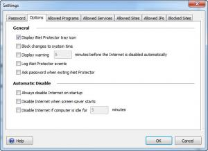 Enlarge iNet Protector Screenshot