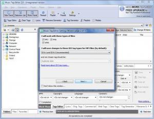 Enlarge Music Tag Editor Screenshot