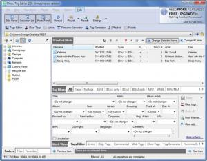 Enlarge Music Tag Editor Screenshot
