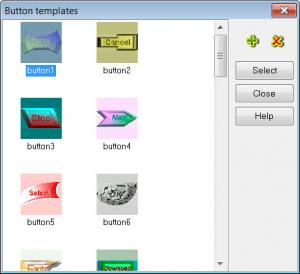 Enlarge Easy Button Creator Screenshot
